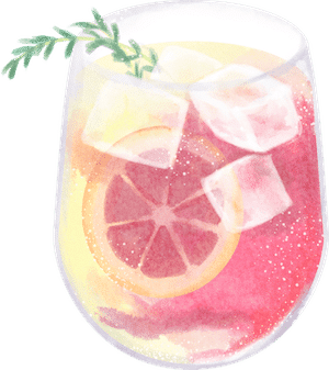 Cocktail Graphic