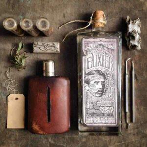 Elixier Gin bottle