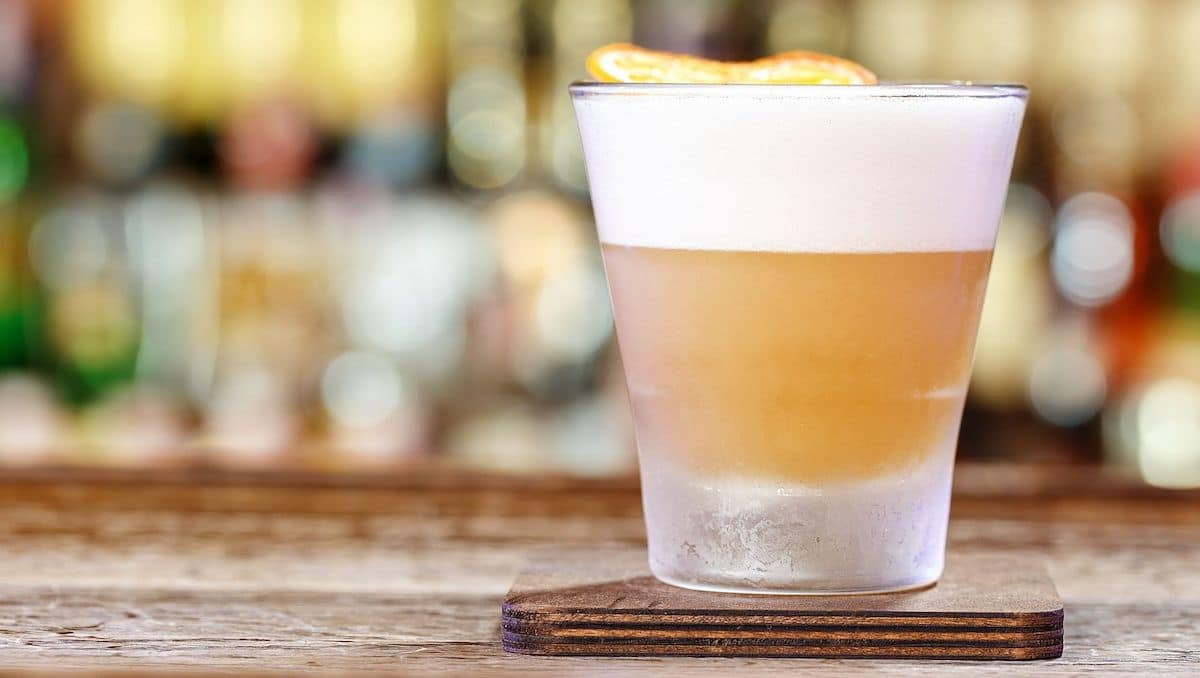 Aquafaba vs egg whites in cocktails