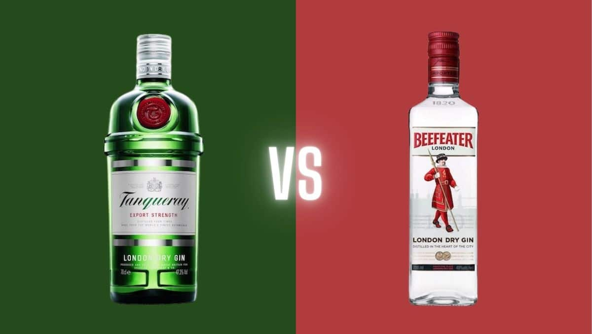 Tanqueray vs Beefeater Gin