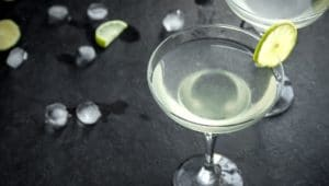 Classic Gin Gimlet Cocktail