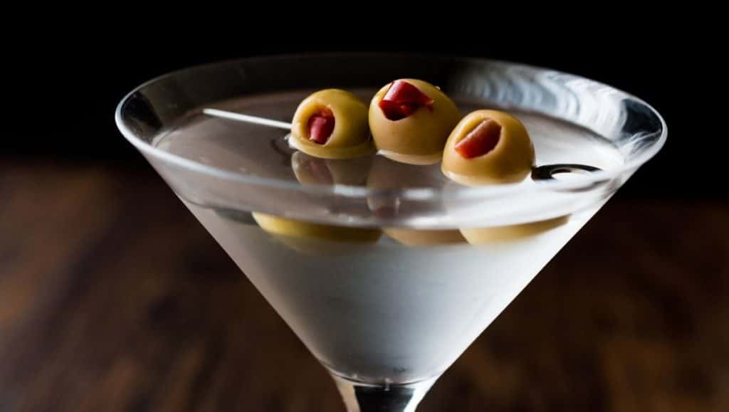 Different types of Martinis