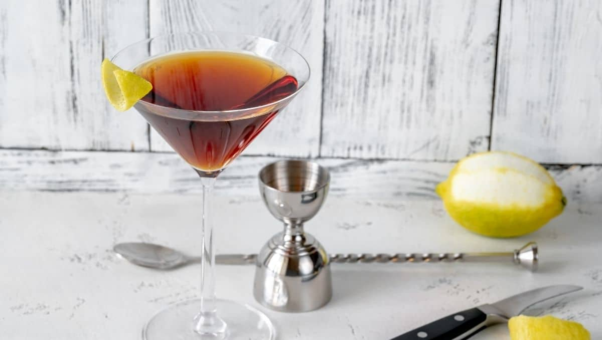 Martinez cocktail & bartools