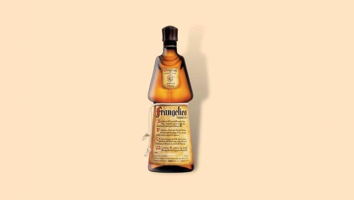 Frangelico hazelnut Liqueur bottle