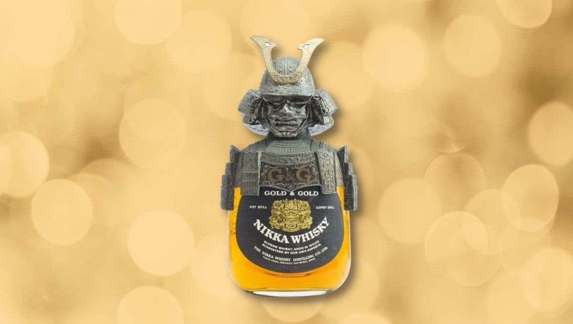 Nikka Gold and Gold - Samurai Edition