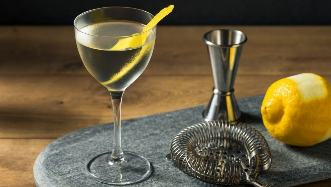 Vesper Martini cocktail